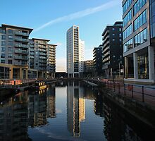 Clarence Dock Golden Hour by robdphoto1987