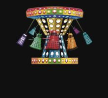 Dalek Carousel - T shirt by BlueShift