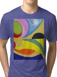 In the eye.... Tri-blend T-Shirt