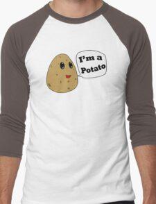 I'm a Potato Men's Baseball ¾ T-Shirt
