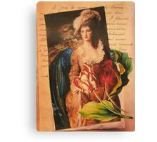 A Love Lost Canvas Print