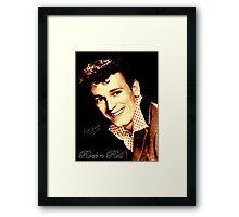 Gene Vincent Framed Print