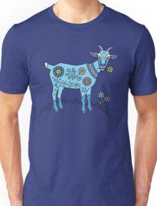 Blue Goat Unisex T-Shirt