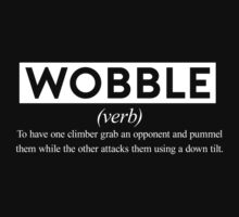 Wobble - The Definition. Kids Tee
