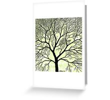 BIG OLD TREE Greeting Card