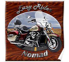 Kawasaki Nomad Easy Rider Poster
