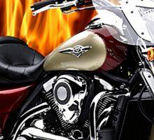 Kawasaki Nomad Fast And Fierce Sticker
