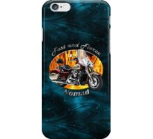 Kawasaki Nomad Fast And Fierce iPhone Case/Skin