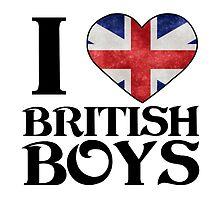 I heart Love British Boys by sweetsisters