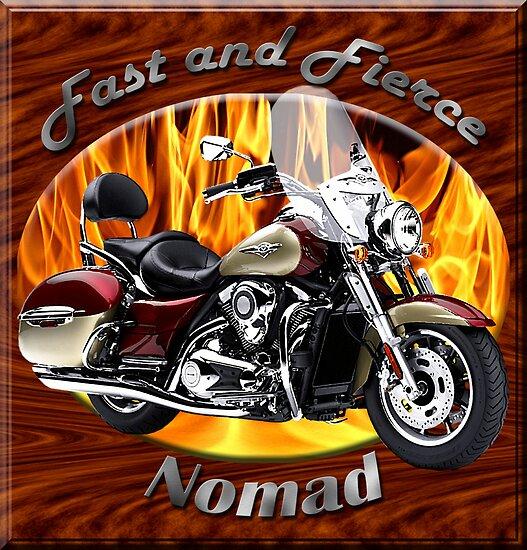 Kawasaki Nomad Fast And Fierce by hotcarshirts