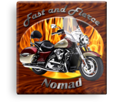 Kawasaki Nomad Fast And Fierce Metal Print
