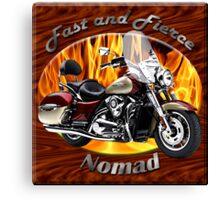 Kawasaki Nomad Fast And Fierce Canvas Print