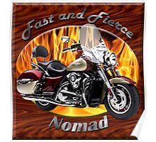 Kawasaki Nomad Fast And Fierce Poster