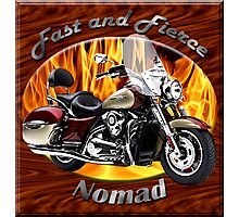 Kawasaki Nomad Fast And Fierce Photographic Print