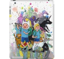 It's Time..for Adventures! iPad Case/Skin