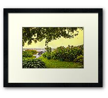 View From The Garden - Russia Framed Print
