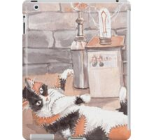 Frankenkitty in the Lab iPad Case/Skin