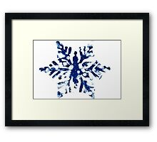Snow Flake Framed Print