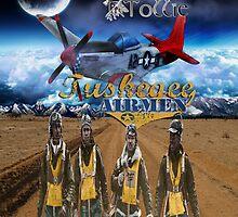 Tuskegee Airmen iPad Case by Tollie Schmidt by Tollie Schmidt