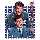 Dean Martin and Jerry Lewis by uberdoodles