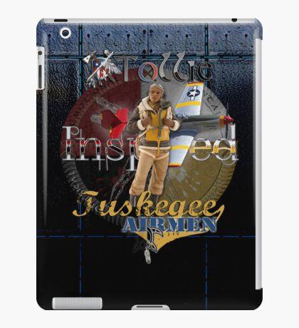 Leather Tuskegee Airmen iPad Case by Tollie Schmidt iPad Case/Skin