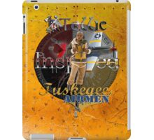 Ostrich Tuskegee Airmen iPad Case by Tollie Schmidt iPad Case/Skin