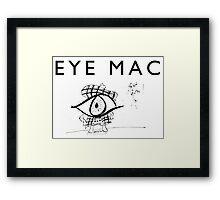 Eye Mac Framed Print