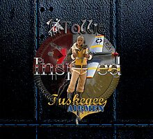 Leather Tuskegee Airmen iPhone Case by Tollie Schmidt by Tollie Schmidt