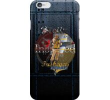 Leather Tuskegee Airmen iPhone Case by Tollie Schmidt iPhone Case/Skin