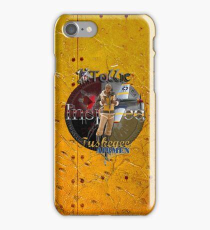 Ostrich Tuskegee Airmen iPhone Case by Tollie Schmidt iPhone Case/Skin