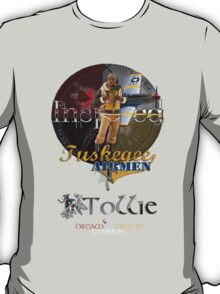 Tuskegee Airmen Inspired T-Shirt by Tollie Schmidt T-Shirt
