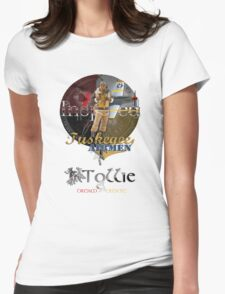 Tuskegee Airmen Inspired T-Shirt by Tollie Schmidt Womens Fitted T-Shirt