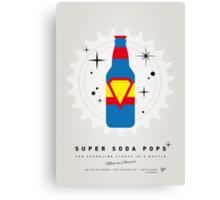 My SUPER SODA POPS No-05 Canvas Print