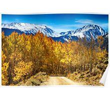 Rocky Mountain Autumn Cruisin Poster