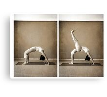 yoga9 Canvas Print