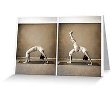 yoga9 Greeting Card