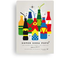 My SUPER SODA POPS No-26 Canvas Print