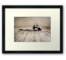 yoga2 Framed Print