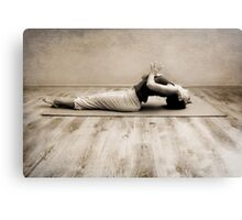 yoga2 Canvas Print