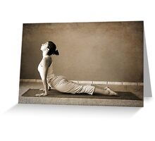 yoga13 Greeting Card