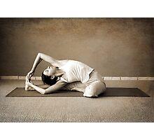 yoga12 Photographic Print