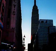 Empire State Sunrise by James Aiken