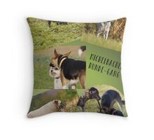 michelbacher hundegang Throw Pillow