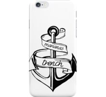 marianas trench anchor design iPhone Case/Skin