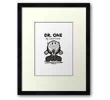 Dr One Framed Print
