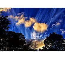 Long Island Sky at Dusk Photographic Print