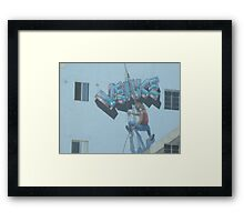 Venice Beach Hotel Framed Print