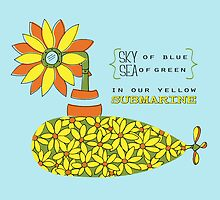 The Yellow Submarine by Julie Hartman