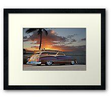 1950 Buick Woody Wagon XI Framed Print