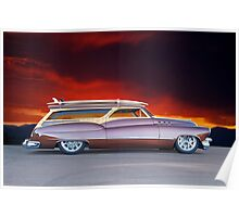 1950 Buick Woody Wagon X Poster